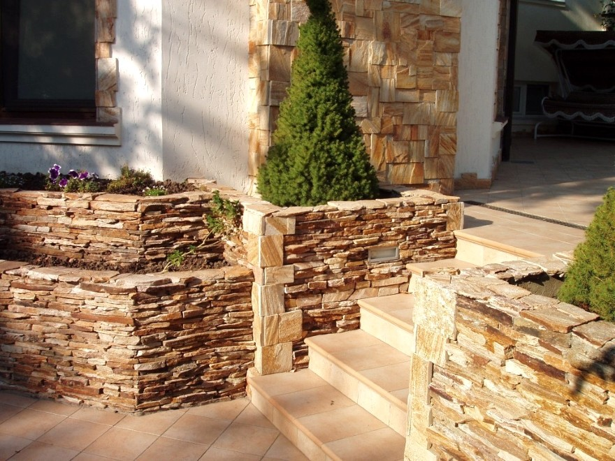 декораьивный камень для внешней отделки