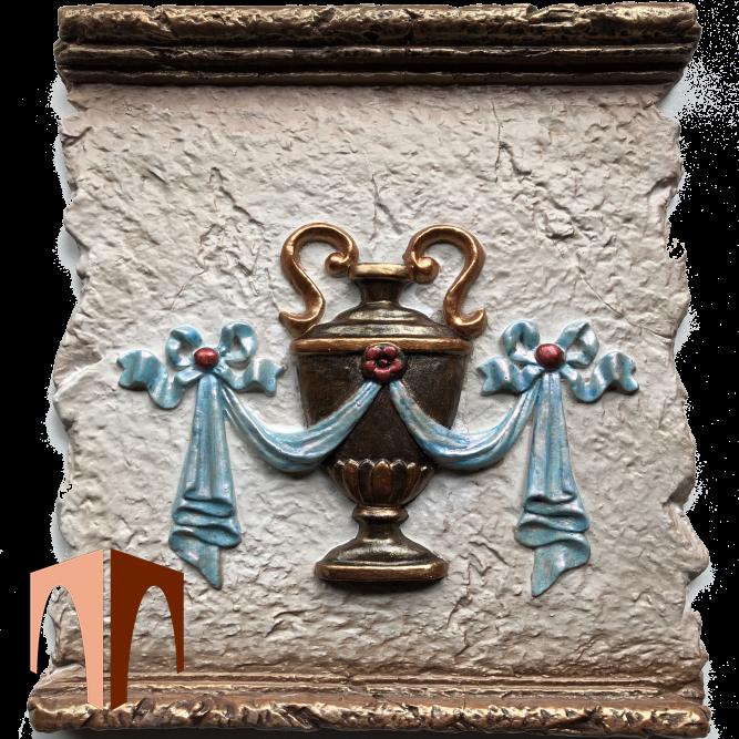Декоративный элемент ваза