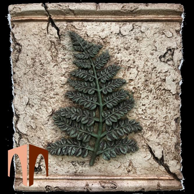 Декоративный элемент папоротник