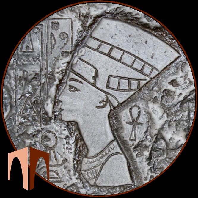искусственный камень элемент декора Нефертити от производителя