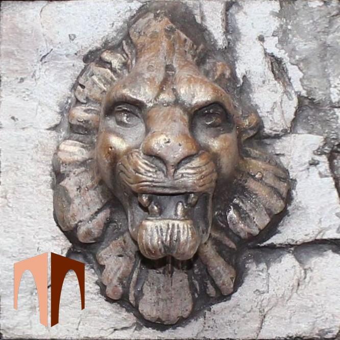 искусственный камень элемент декора Лев от производителя