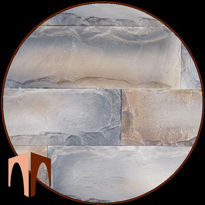 гипсовый камень Мрамор сколотая грань от производителя