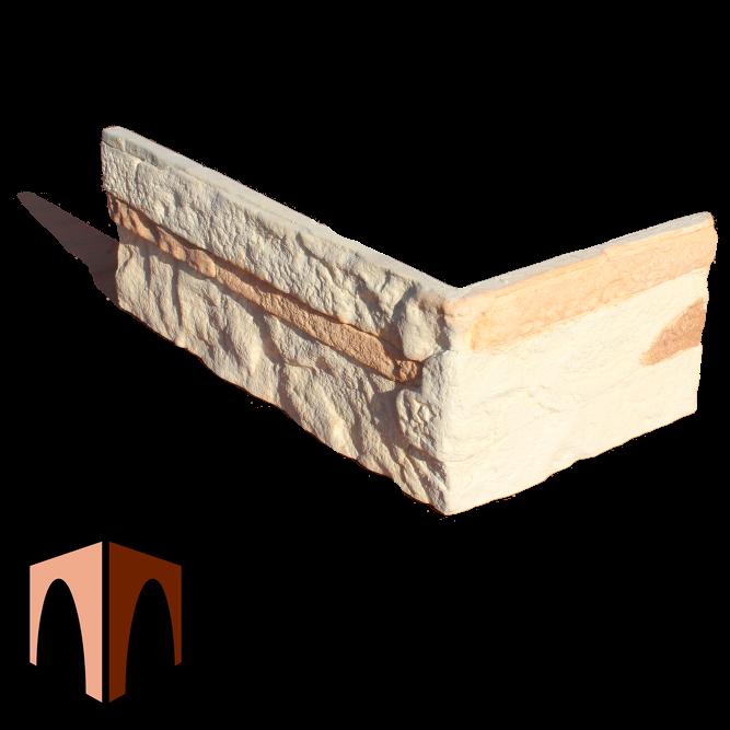 гипсовый камень Сланец Рифейский от производителя наружный угловой элемент